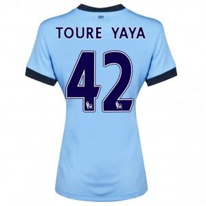 Camiseta nueva Manchester City Javi Garcia Primera 2013/2014