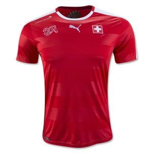 Camiseta del Suiza 2016/2017