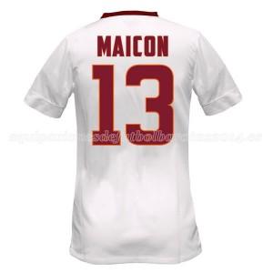 Camiseta nueva AS Roma Maicon Equipacion Segunda 2014/2015
