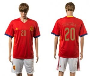 Camiseta del 20# España 2015-2016