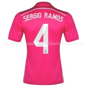 Camiseta del Sergio Ramos Real Madrid Segunda Equipacion 2014