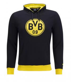 Camiseta nueva del Borussia Dortmund 2017/2018 Crest Hoody