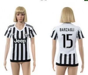 Mujer Camiseta del 15 Juventus 2015/2016