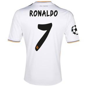 Camiseta Real Madrid Ronaldo Primera Equipacion 2013/2014