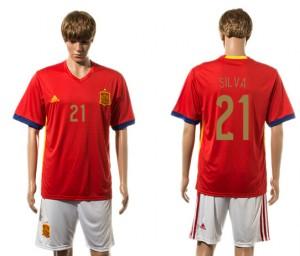 Camiseta España 21# 2015-2016