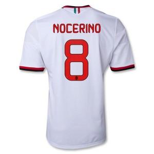Camiseta nueva del AC Milan 2013/2014 Equipacion Nocerino Segunda