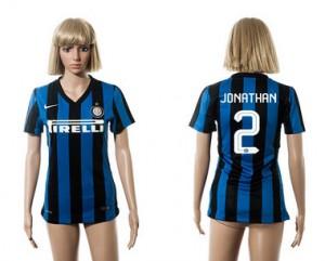 Mujer Camiseta del 2 Inter Milan 2015/2016