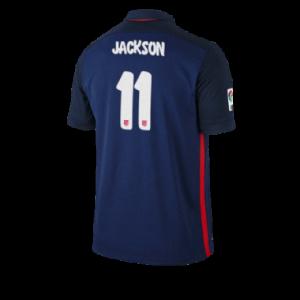 Camiseta del JACKSON Atletico Madrid Segunda Equipacion 2015/2016