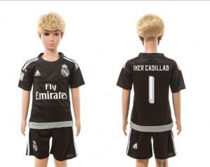 Ninos Camiseta del goalkeeper 01 Real Madrid 2015/2016