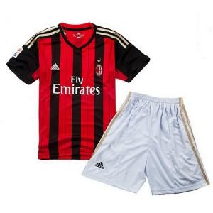 Camiseta nueva del AC Milan 2013/2014 Equipacion Nino Primera