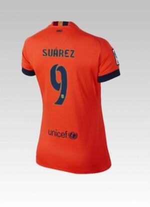 Camiseta nueva Barcelona Bartra Tercera 2014/2015