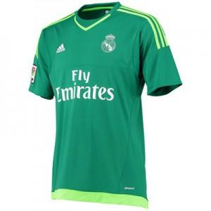 Camiseta Portero del Real Madrid Segunda Equipacion 2015/2016