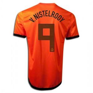 Camiseta de Holanda de la Seleccion 2012/2014 Primera V.Nistelrooy