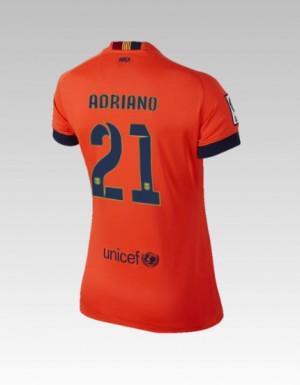 Camiseta nueva del Barcelona 2013/2014 Equipacion Bartra Tercera