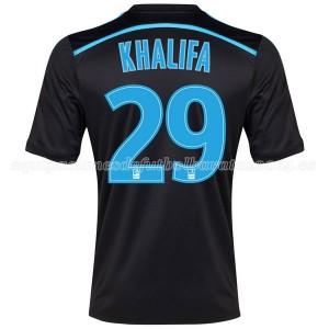 Camiseta de Marseille 2014/2015 Tercera Khalifa