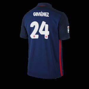 Camiseta Atletico Madrid GIMENEZ Segunda Equipacion 2015/2016