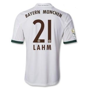 Camiseta Bayern Munich Lahm Tercera Equipacion 2013/2014