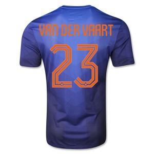 Camiseta nueva Holanda Van Der Vaart Segunda WC2014