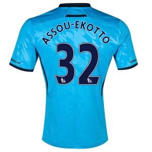 Camiseta nueva Tottenham Hotspur Assou Ekotto Segunda 2013/2014