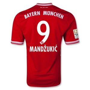 Camiseta Bayern Munich Mandzukic Primera 2013/2014