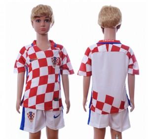 Camiseta nueva Croacia Ninos Primera Segunda 2016