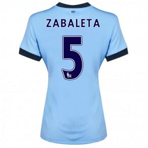 Camiseta de Manchester City 2013/2014 Primera Dzeko