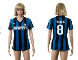 Camiseta Inter Milan 8 2015/2016 Mujer