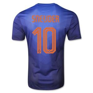 Camiseta del Sneijder Holanda de la Seleccion Segunda WC2014